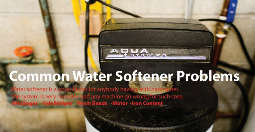 Common Water Softener Problems