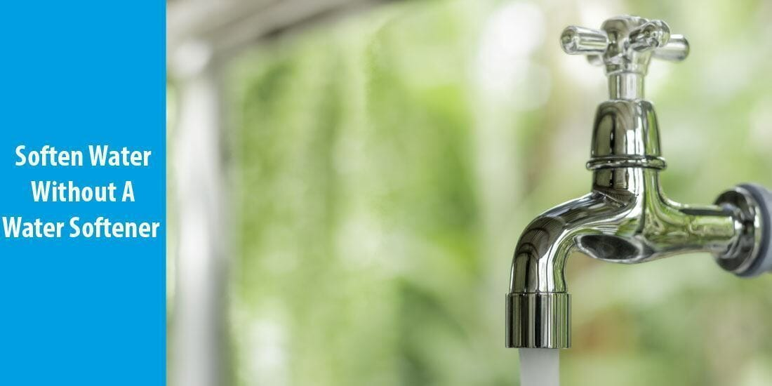 how to soften water without a water softener