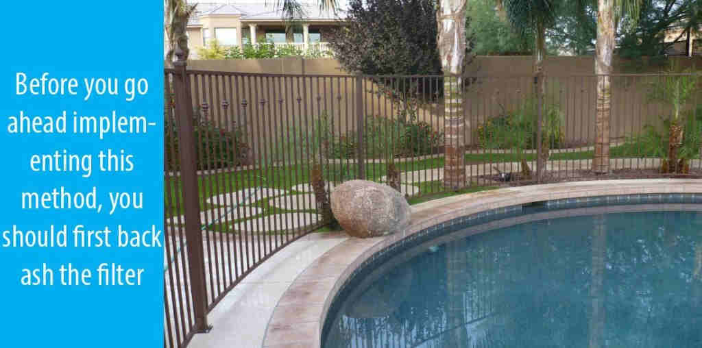 Flocculent Method To Remove Iron From Pool Water