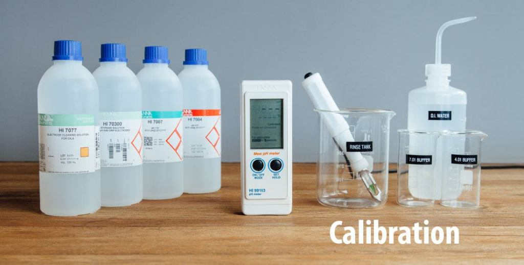 Preparing for Calibration on How To Read pH Meter