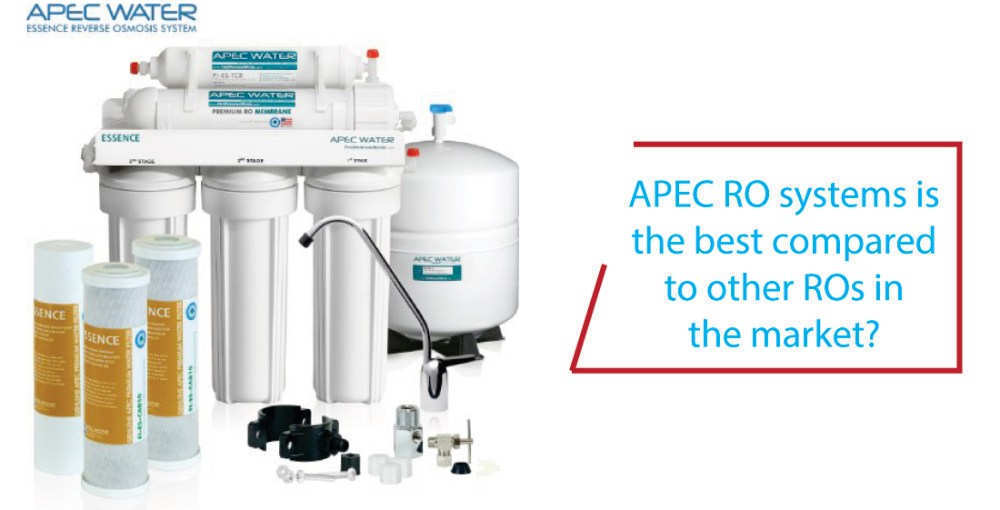 How are APEC RO systems compared to other ROs in the market