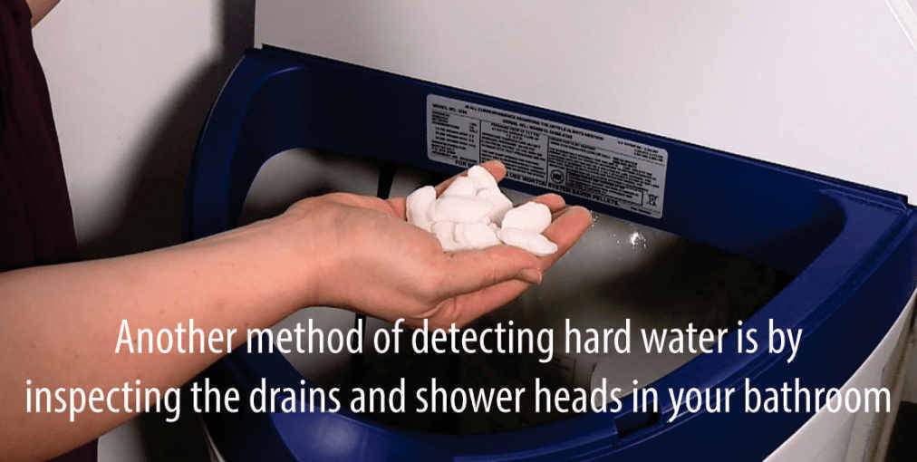 Now how can you tell if you are using hard water at home