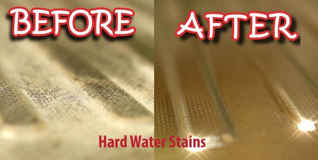 How To Get Rid of Hard Water Stains on Glass - A Useful Guide