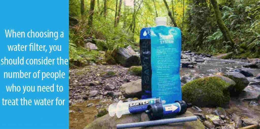 Factors to Consider When Purchasing the Best Portable Water Filters