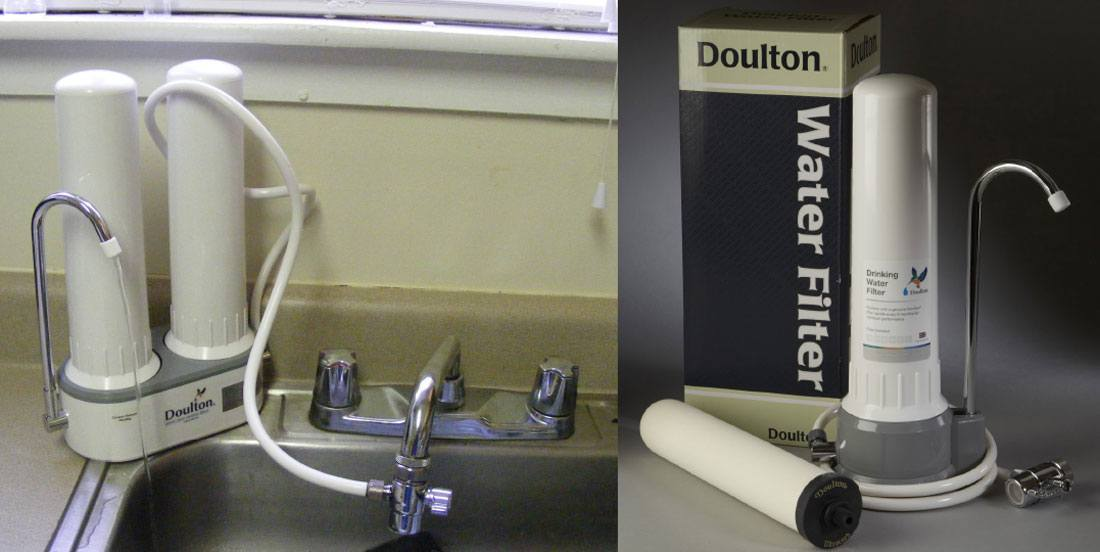 doulton water filter review