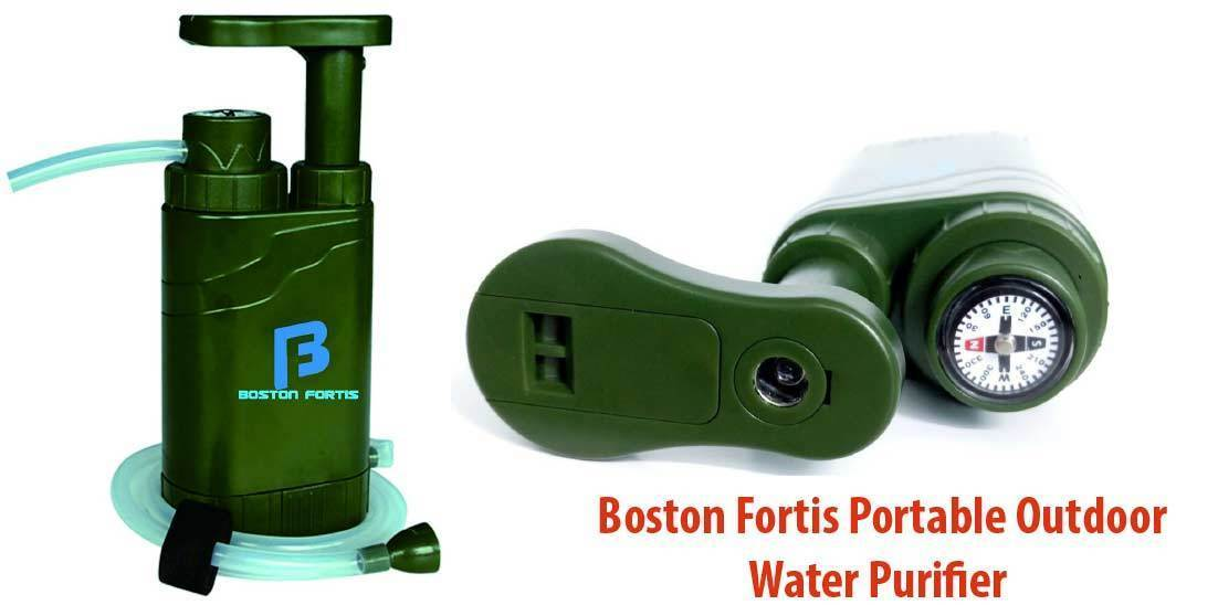 Boston Fortis Portable Outdoor Water Purifier