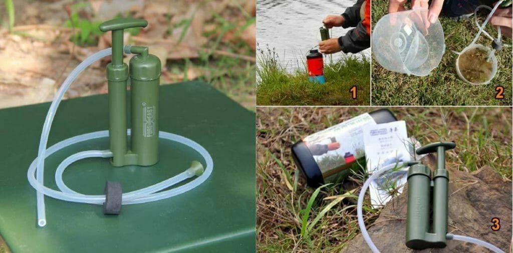 Consideration of PureEasy Soldier Portable Water Purifier
