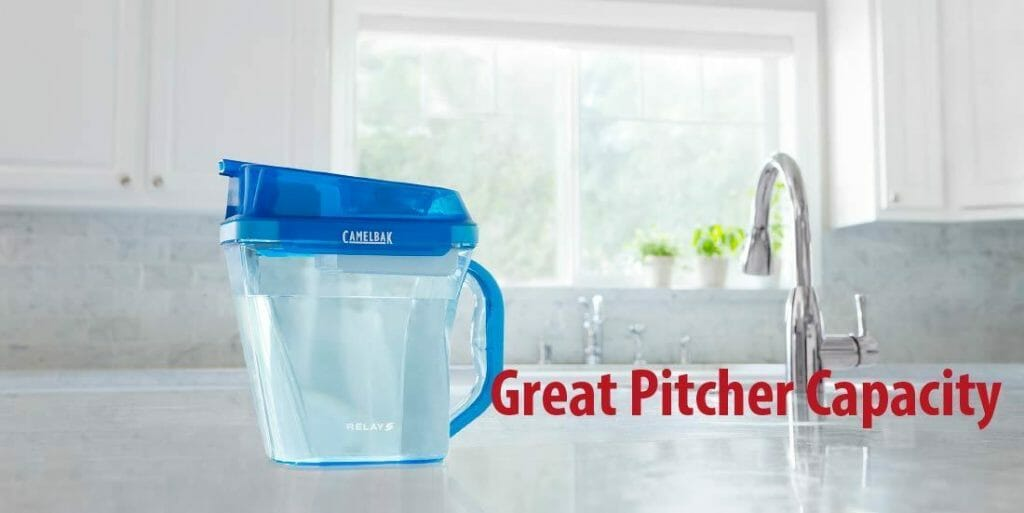 Pitcher Capacity CamelBak Relay Pitcher