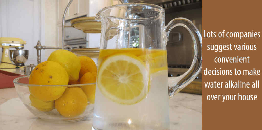 how to Alkaline water naturally