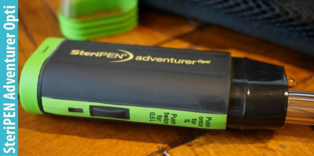 Why You Like SteriPen Adventurer Opti UV Water Purifier