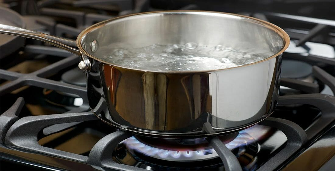 Boiling Drinking Water to Make It Soft enough for Drinking