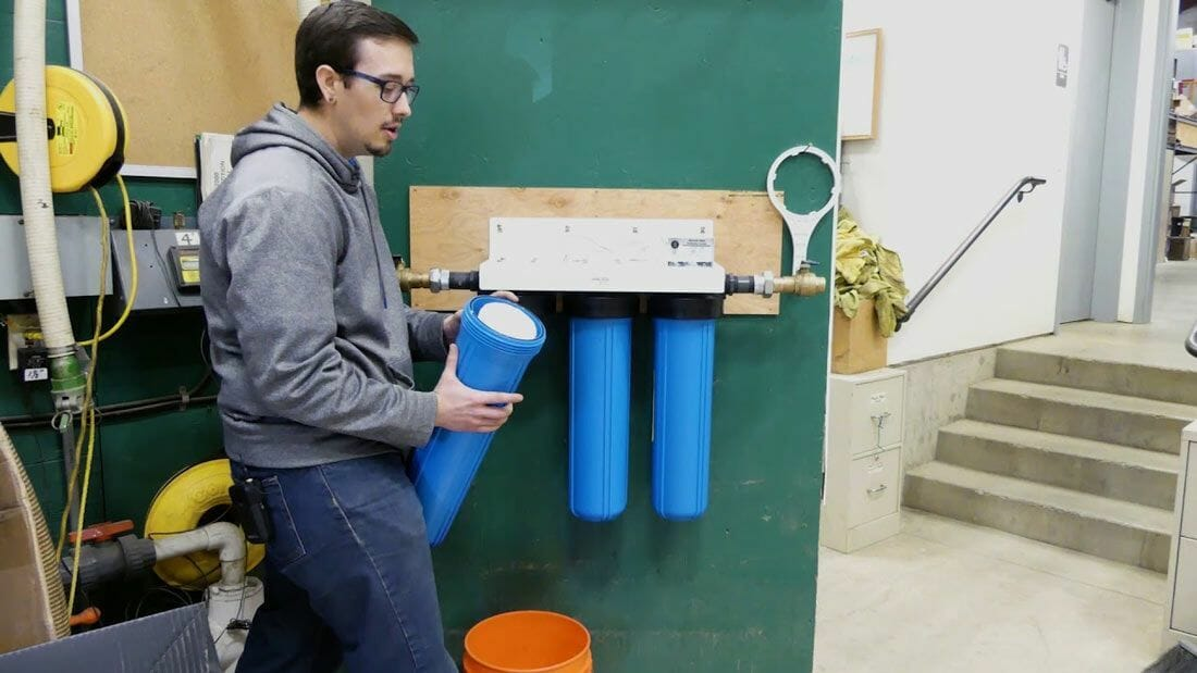 Cleaning and Maintenance of Big Blue Water Filter