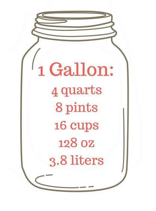 How Many Bottles Of Water Are In A Gallon