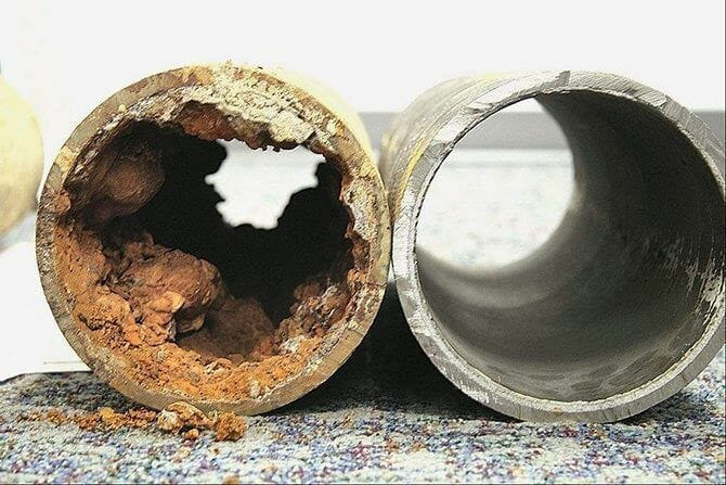 Impacts on Pipes and Appliances