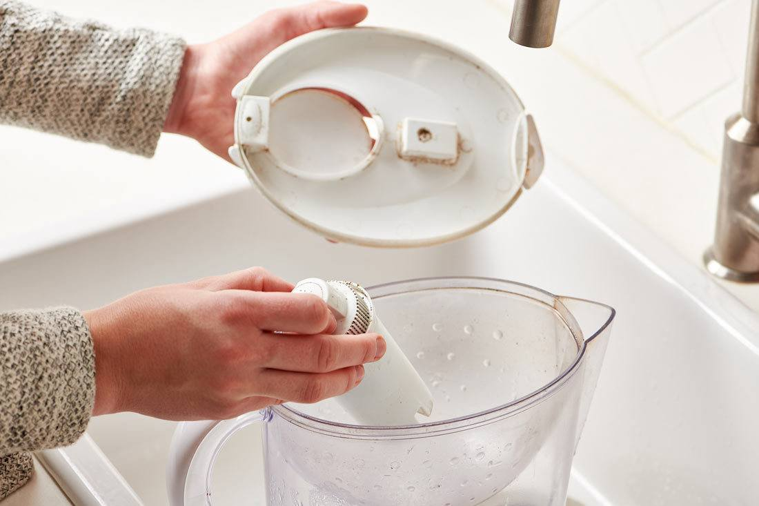 Steps for Cleaning a Brita Pitcher