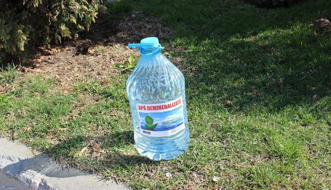 what is demineralized water