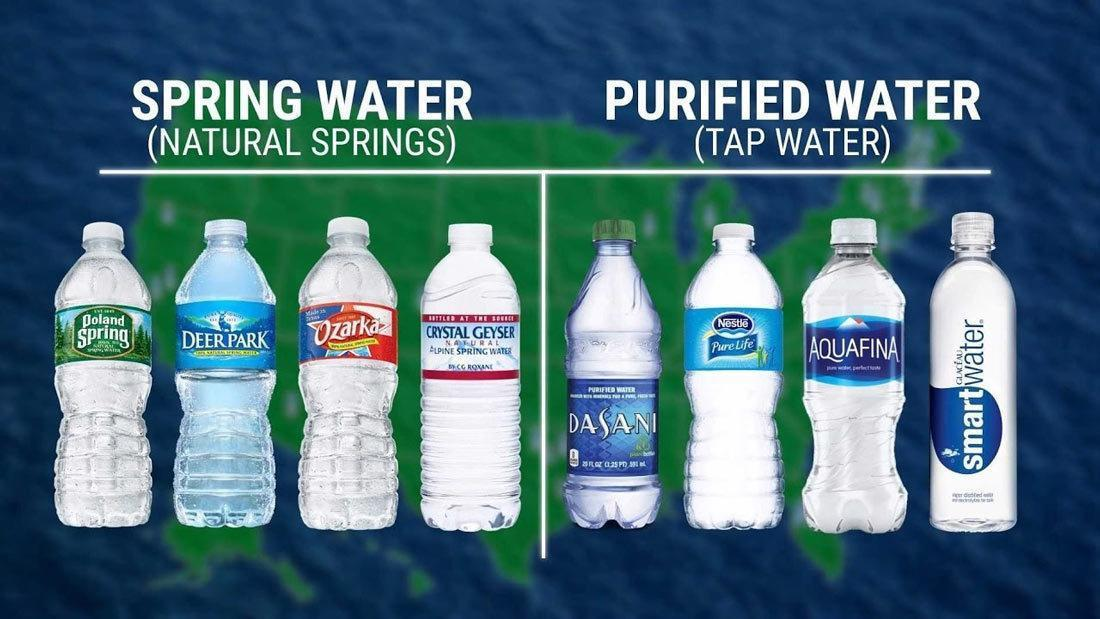 What is the Difference Between Spring Water and Purified Water?