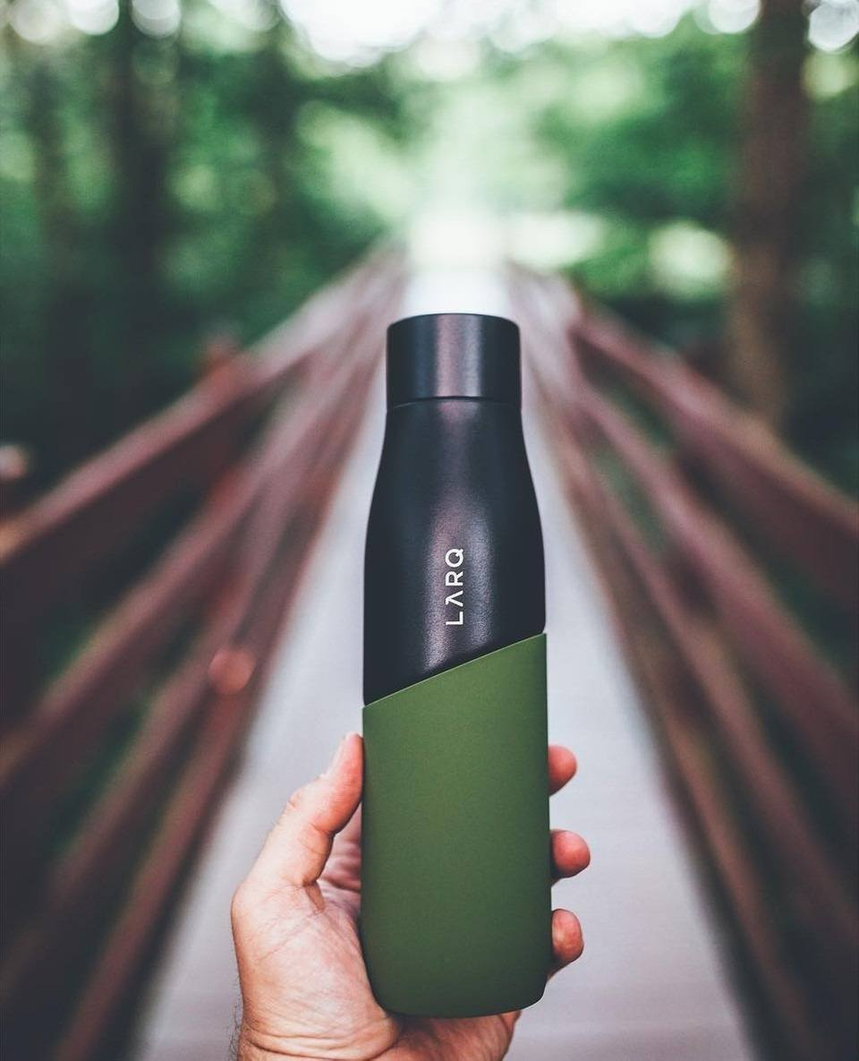 Self-Cleaning Water Bottles