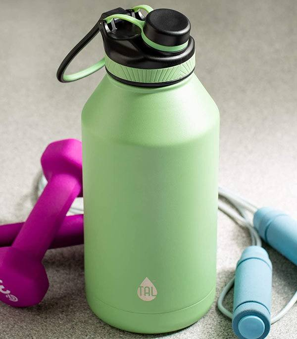 How does the Tal Water Bottle work?