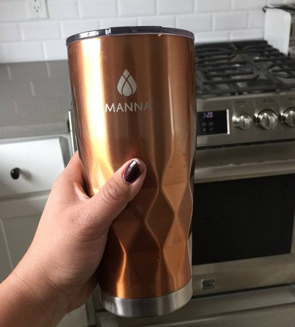 How the Manna bottle works?