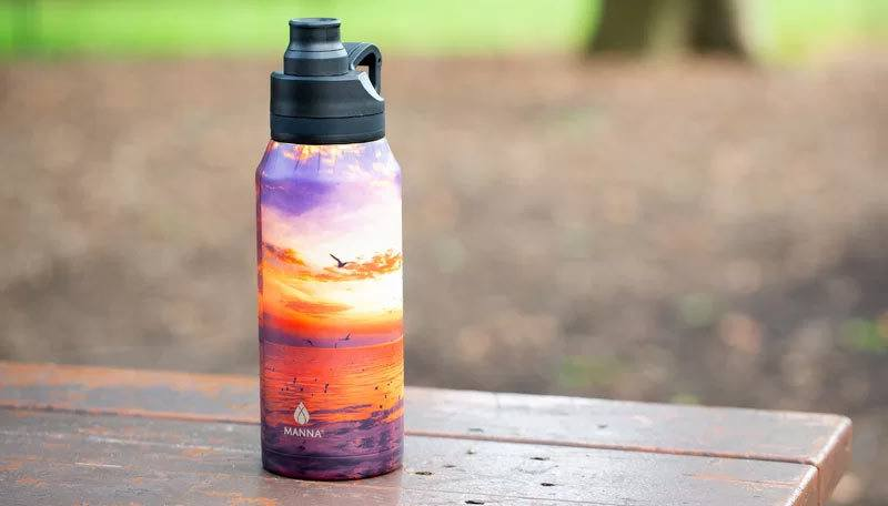 How to clean and care for the Manna Stainless Steel Water Bottle