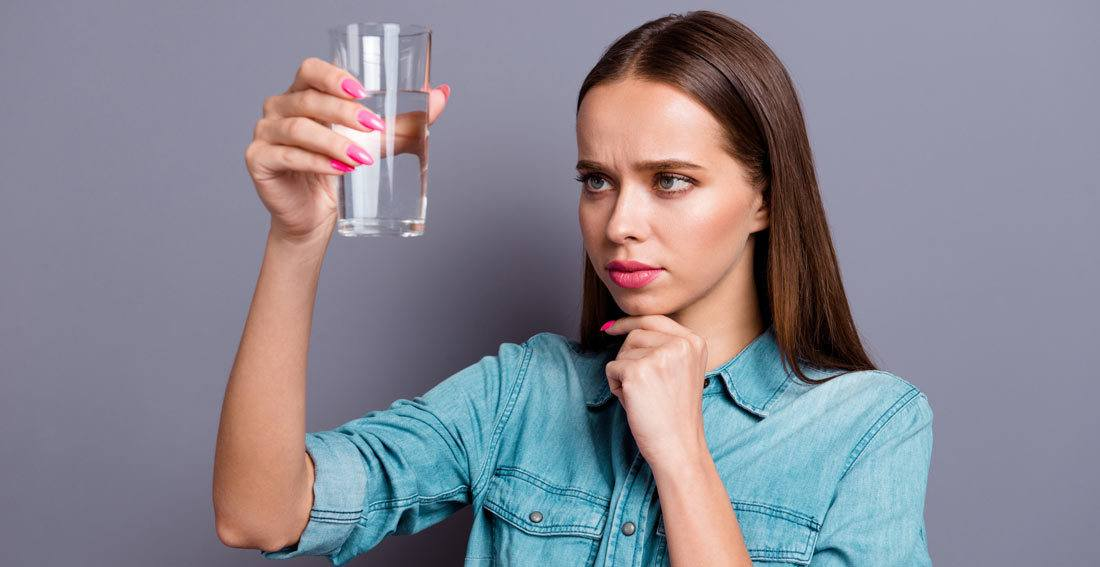 How to know if you have bad quality water