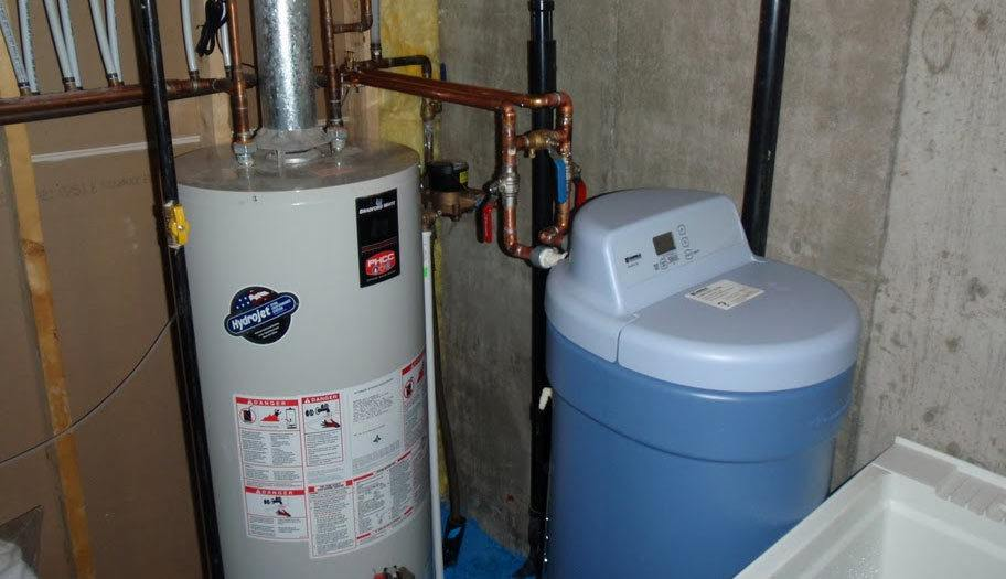 Where to install a water softener